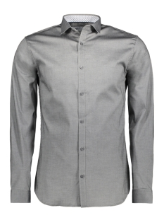 Jack & Jones Overhemd JPRMAGNUM DETAIL SHIRT L/S PLAIN 12128758 Grey Melange