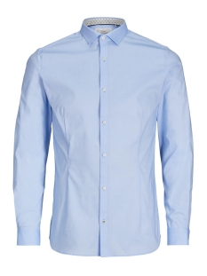 Jack & Jones Overhemd JPRMAGNUM DETAIL SHIRT L/S PLAIN 12128758 Cashmere Blue