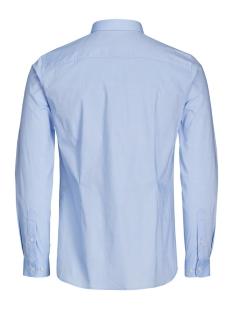 jprmagnum detail shirt l/s plain 12128758 jack & jones overhemd cashmere blue