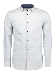 Jack & Jones Overhemd JPRMAGNUM AOP SHIRT L/S PLAIN 12128731 White