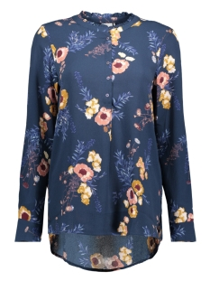 Jacqueline de Yong Blouse JDYMILO L/S PLACKET SHIRT WVN 15146722 Dress Blues/MILO FLOWE