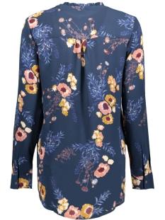 jdymilo l/s placket shirt wvn 15146722 jacqueline de yong blouse dress blues/milo flowe
