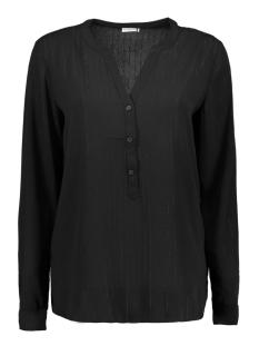 Jacqueline de Yong Blouse JDYSERENITY L/S PLACKET TOP WVN 15142956 Black/BLACK LURE