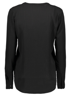 jdyserenity l/s placket top wvn 15142956 jacqueline de yong blouse black/black lure