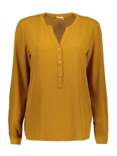 Jacqueline de Yong Blouse JDYSERENITY L/S PLACKET TOP WVN 15142956 Golden Brown/GOLD LUREX