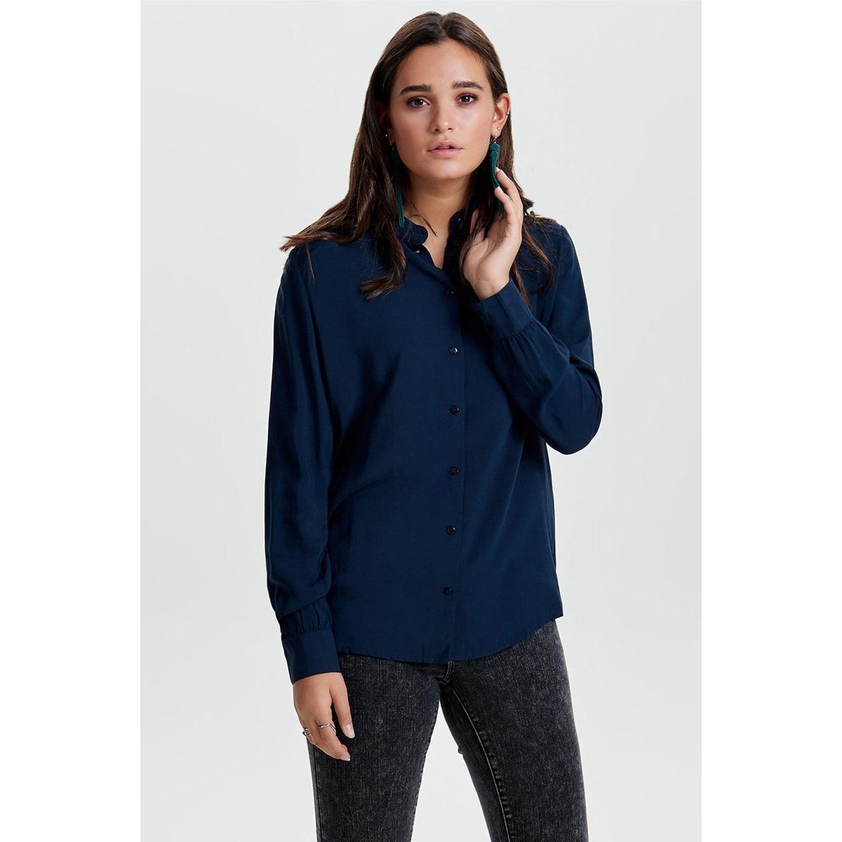 jdydicte l/s shirt wvn 15140848 jacqueline de yong blouse dress blues