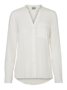 Vero Moda Blouse VMSUE ELLA L/S SHIRT NOOS 10177232 Snow white