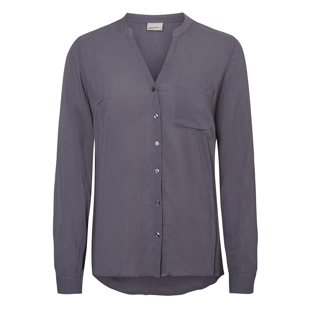 vmsue ella l/s shirt noos 10177232 vero moda blouse ombre blue