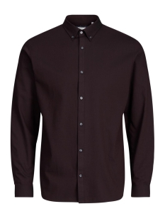 Jack & Jones Overhemd JPRX-MAS SHIRT L/S PLAIN 12130351 Winetasting