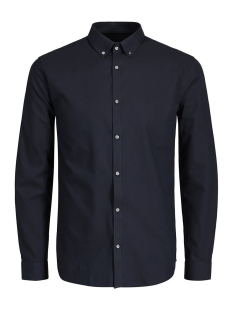 Jack & Jones Overhemd JPRX-MAS SHIRT L/S PLAIN 12130351 Navy Blazer