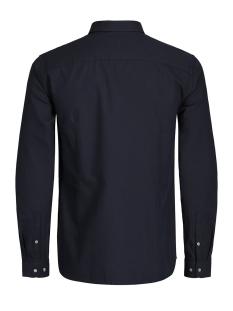 jprx-mas shirt l/s plain 12130351 jack & jones overhemd navy blazer