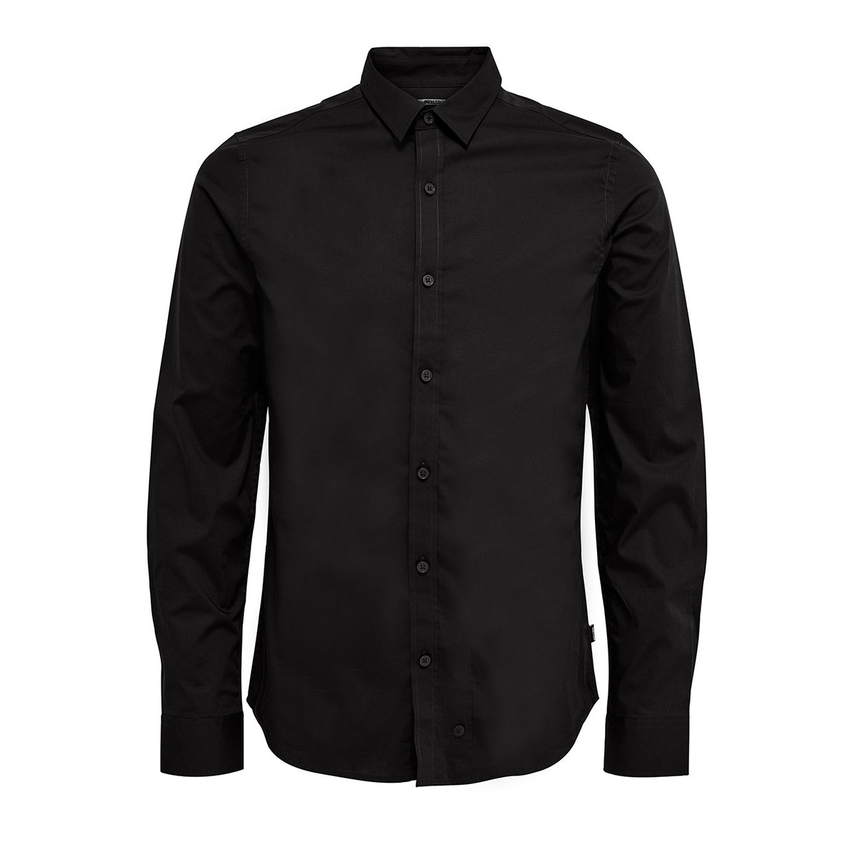 onsalfredo ls shirt ex-slim noos 22007080 only & sons overhemd black