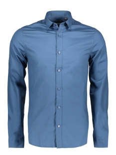 onsalfredo ls shirt ex-slim noos 22007080 only & sons overhemd ensign blue