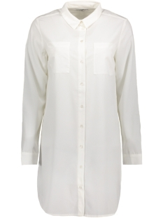 Pieces Blouse PCIDINA LS LONG SHIRT 17086952 Bright White