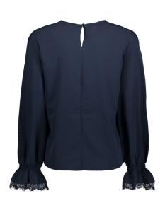 pcdolisa ls blouse camp 17088600 pieces blouse navy blazer