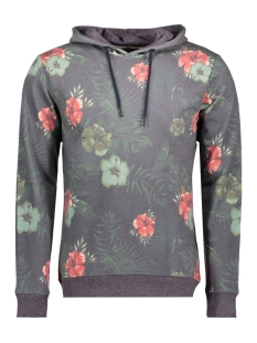 onsflanc sweat hood exp 22009776 only & sons sweater night sky
