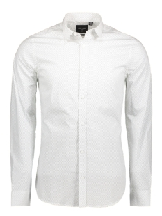 Only & Sons Overhemd onsALFREDO LS AOP SHIRT NOOS 22008735 White