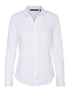 Vero Moda Blouse VMISABELLA L/S SHIRT NOOS 10188822 Bright White