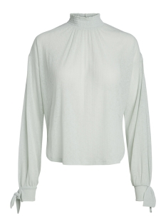 Pieces Blouse PCDILMA LS BLOUSE CAMP 17088599 Sky Gray