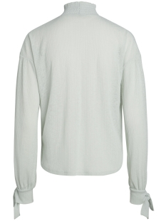 pcdilma ls blouse camp 17088599 pieces blouse sky gray