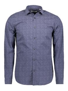 jprblackpool shirt l/s s18 sts 12131281 jack & jones overhemd navy blazer