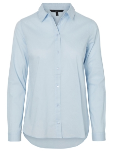 Vero Moda Blouse VMKATE ISABELL L/S LONG SHIRT NOOS 10193157 Cashmere Blue