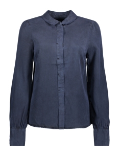 Vero Moda Blouse VMFOX PUFF LS SHIRT GA 10192378 Night Sky