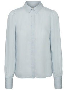Vero Moda Blouse VMFOX PUFF LS SHIRT GA 10192378 Light Blue Denim