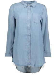 Only Blouse onlLARY LONG DNM SHIRT BJ11003 15148884 Light Blue Denim