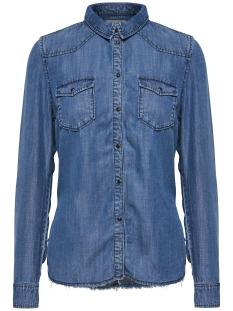 Only Blouse onlLUCKY REG DNM SHIRT BJ11003 15148887 Medium Blue Denim