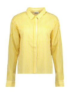 Noisy may Blouse NMJACK L/S CUTLINE SHIRT 1 27001197 Lemon Chrome