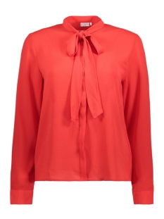 Jacqueline de Yong Blouse JDYBOWY L/S SHIRT WVN 15147916 High Risk Red