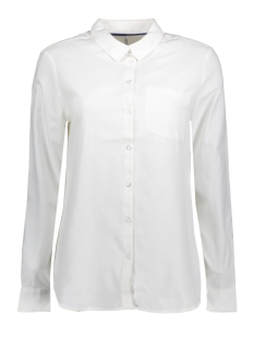 Only Blouse onlLAUREN L/S OXFORD SHIRT WVN 15150188 White