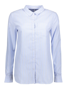 Only Blouse onlLAUREN L/S OXFORD SHIRT WVN 15150188 Celestial Blue/White Stripes