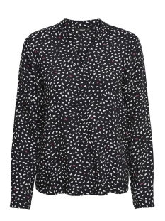 Only Blouse onlTESSA L/S SHIRT WVN 15151226 Black/HEARTBEAT