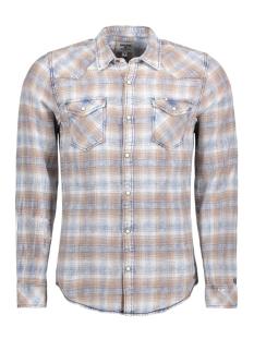 Garcia Overhemd N81236 2565 Copper Brown