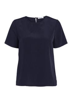 Pieces T-shirt PCIRIS SS TOP NOOS 17087129 Navy Blazer