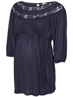 Mama-Licious Positie shirt MLILKA 3/4 JERSEY TOP 20008217 Black Iris