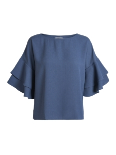 Pieces Blouse PCILSA 2/4 TOP PB 17087472 Bering Sea