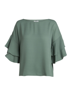 Pieces Blouse PCILSA 2/4 TOP PB 17087472 Laurel Wreath