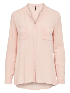 Only Blouse onlFIRST LS POCKET SHIRT NOOS WVN 15133028 Peachy Keen