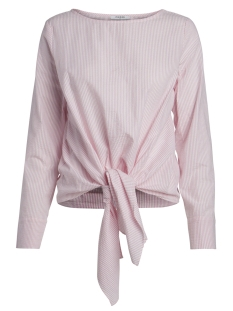 Pieces Blouse PCMIRA LS TIE TOP 17088249 Sea Pink/Sea pink W