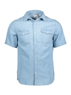 Only & Sons Overhemd onsTRIPPER SS DENIM SHIRT 22009456 Light Blue Denim