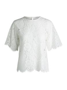 Pieces T-shirt PCGAIA 2/4 O-NECK LACE TOP 17088949 Cloud dancer
