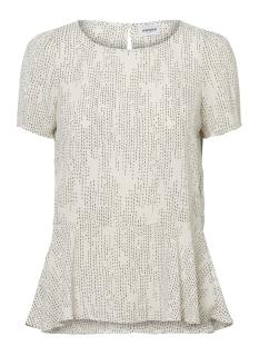 Vero Moda T-shirt VMCATE SS TOP GA 10197019 Eggnog/STIK