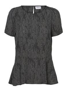 Vero Moda T-shirt VMCATE SS TOP GA 10197019 Black/STIK