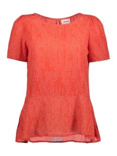 Vero Moda T-shirt VMCATE SS TOP GA 10197019 Poppy Red/STIK