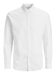 Jack & Jones Overhemd JPRSUMMER SHIRT L/S BUTTON DOWN STS 12132419 White