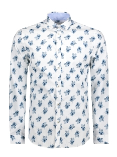 Jack & Jones Overhemd JPRADAM PRINT SHIRT L/S PLAIN 12136341 White