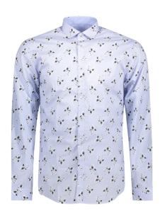 Jack & Jones Overhemd JPRADAM PRINT SHIRT L/S PLAIN 12136341 Cashmere Blue